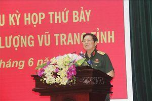 Đại tướng Ngô Xuân Lịch tiếp xúc cử tri tỉnh Hà Nam