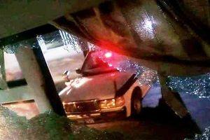 Xe khách đi qua Thanh Hóa bị ném đá vỡ kính, một phụ nữ bị thương