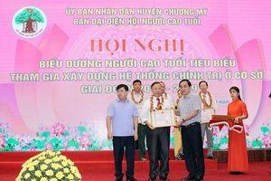 Ông Nguyễn Văn Mỉnh: Chi hội trưởng Người cao tuổi nêu gương sáng