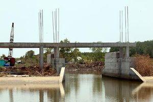 Chọn xong nhà thầu thực hiện Gói thầu xây dựng cống kênh Nhánh tại Kiên Giang