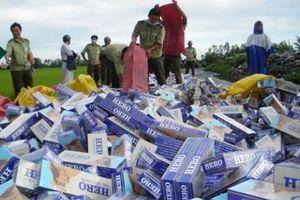 Tổng Công ty Thuốc lá Việt Nam: Đẩy mạnh công tác chống buôn lậu thuốc lá