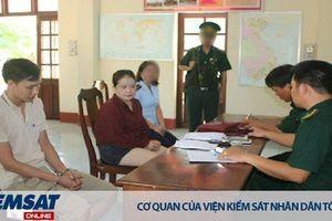 Phê chuẩn quyết định khởi tố bị can, Lệnh tạm giam 04 tháng đối với quái nữ vận chuyển ma túy lên bán ở biên giới