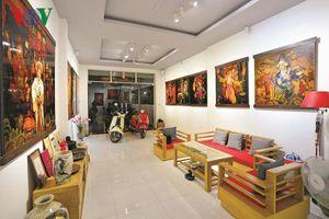 Gallery nghệ thuật trong ngôi nhà phố
