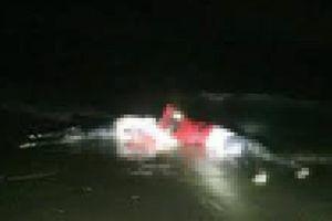 Thi thể đang phân hủy trên biển ở Cà Mau