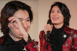 Diễn viên Quang Trung xúc động, hồi hộp khi lấn sân ca hát