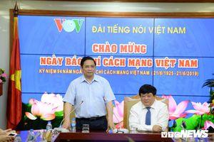 Ông Phạm Minh Chính chúc mừng Đài Tiếng nói Việt Nam nhân ngày 21/6
