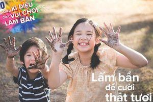 Cho con tiếp xúc sớm với công nghệ để trở nên giỏi giang nhưng cha mẹ đã quên rằng: trẻ con cũng cần được vui chơi lấm bẩn!