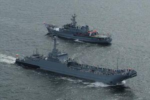 Tàu đổ bộ tối tân của NATO hư hỏng nặng khi đang tập trận răn đe Nga
