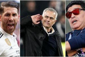 10 nhân vật thể thao bị căm ghét nhất: Có Maradona, Mourinho và Ramos