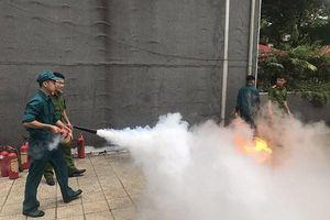 Trang bị kiến thức phòng cháy, cứu nạn cho đội ngũ chữa cháy cơ sở
