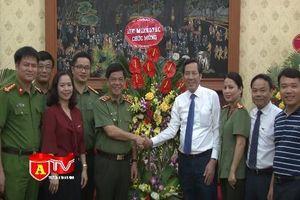 CATP Hà Nội chúc mừng các cơ quan báo chí nhân ngày báo chí Cách mạng