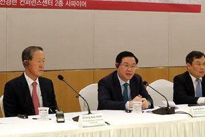 Hợp tác VN – Hàn Quốc: Phó Thủ tướng nhắc tới Park Hang-seo