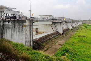 Cấp thiết tu sửa cụm công trình phân lũ sông Đáy