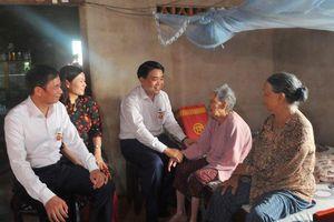 Đoàn công tác của Ban Thường vụ Thành ủy Hà Nội thăm hỏi, tặng quà tại tỉnh Bà Rịa - Vũng Tàu