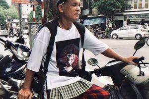 Chàng stylist Hà thành biến bác xe ôm thành tín đồ thời trang sành điệu