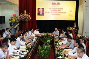 Ra mắt tác phẩm 'Tổng Bí thư, Chủ tịch nước Nguyễn Phú Trọng với tình cảm của nhân dân trong nước và bạn bè quốc tế'