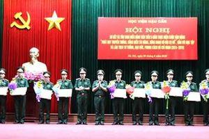 Học viện Hậu cần sơ kết 5 năm thực hiện Cuộc vận động 'Phát huy truyền thống, cống hiến tài năng, xứng danh Bộ đội Cụ Hồ'