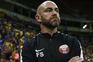 Qatar thua vào giờ chót: HLV Felix Sanchez cảm nhận dư vị tồi tệ