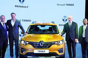 MPV 7 chỗ siêu rẻ Renault Triber chính thức trình làng