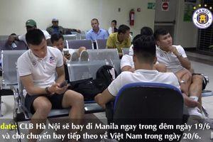 Quang Hải vật vờ 10 tiếng ở sân bay, vẫn chưa được về Việt Nam