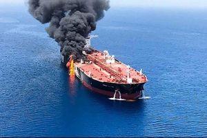 Tình báo Mỹ khẳng định Iran đứng sau các vụ tấn công tàu chở dầu