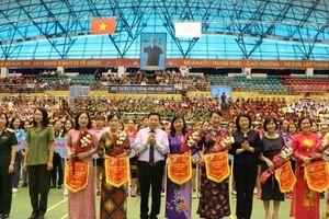 Phó Chủ tịch nước Đặng Thị Ngọc Thịnh, dự Liên hoan Thể dục Thể thao Phụ nữ toàn quốc 2019