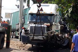 Khởi tố, bắt giam tài xế container vụ tai nạn làm 5 người chết ở Tây Ninh