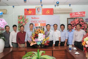 Ban Nội chính Thành ủy TPHCM thăm, chúc mừng báo Tiền Phong nhân ngày 21/6
