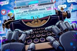 Robot báo chí không thể thay thế… nhà báo