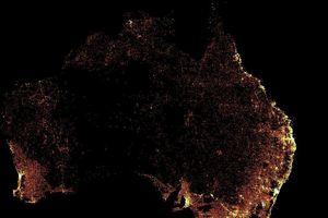 Choáng với bản đồ mật độ dân số chi tiết nhất thế giới của Facebook