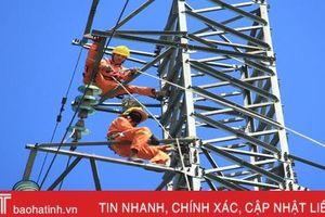 Điện lực Hà Tĩnh huy động 100 công nhân khắc phục sự cố về điện