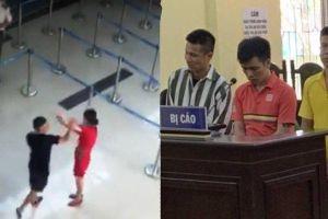 3 đối tượng hành hung nhân viên Cảng hàng không Thọ Xuân lĩnh án
