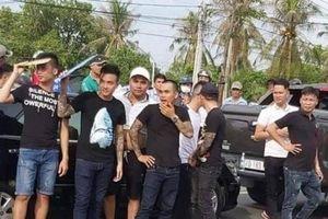 Bắt chủ doanh nghiệp gọi giang hồ vây xe chở công an ở Đồng Nai