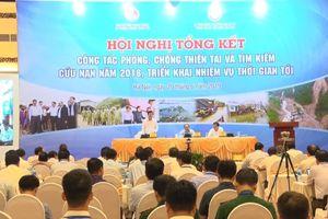 Thủ tướng chủ trì hội nghị toàn quốc về phòng chống thiên tai