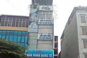Nha khoa Aqua Care quảng cáo, tư vấn thực hiện dịch vụ không phép?
