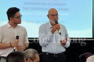 Cựu Bộ trưởng Israel bàn chuyện đổi mới sáng tạo tại Việt Nam