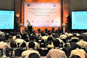 Khởi động dự án về thị trường cổ phiếu Việt Nam