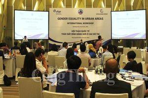 Thúc đẩy bình đẳng giới ở các đô thị