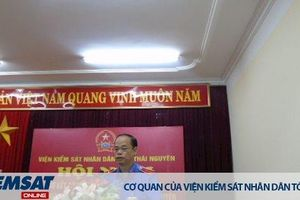 VKSND tỉnh Thái Nguyên: Tổ chức Hội nghị trực tuyến sơ kết công tác 06 tháng đầu năm 2019