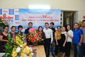 Lãnh đạo Hội Chữ thập đỏ Việt Nam chúc mừng các cơ quan báo chí nhân ngày 21/6