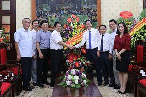 Lãnh đạo Ban Tổ chức Trung ương thăm, chúc mừng các cơ quan thông tấn, báo chí nhân kỷ niệm 94 năm Ngày Báo chí cách mạng Việt Nam