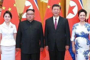 Chủ tịch Trung Quốc Tập Cận Bình sang Triều Tiên gặp ông Kim Jong-un
