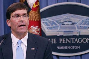 Tân quyền Bộ trưởng Quốc phòng Mỹ sẽ cứng rắn hơn với Trung Quốc?