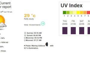 Hà Nội: Chỉ số tia UV ở mức nguy hiểm đến hết tuần