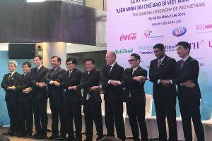 9 doanh nghiệp hàng tiêu dùng thành lập liên minh tái chế bao bì