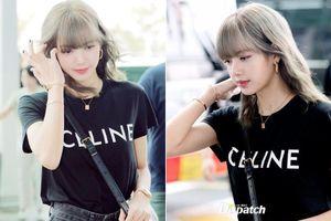 Lisa (Black Pink) mặc đơn giản vẫn đẹp hút hồn ở sân bay