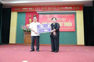 Chủ tịch HĐND TP Nguyễn Thị Bích Ngọc: Hà Nội - Thái Nguyên sẽ ngày càng gần gũi nhau hơn