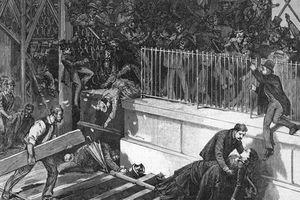 Thảm kịch kinh hoàng tại cây cầu treo nổi tiếng nước Mỹ