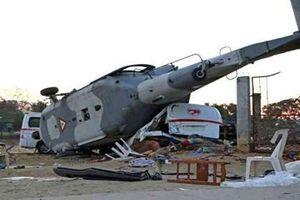Trực thăng quân sự Nga rơi, phi công thiệt mạng