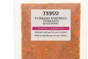 Chứa sữa mà không ghi trên nhãn, gia vị cà chua Tesco bị thu hồi